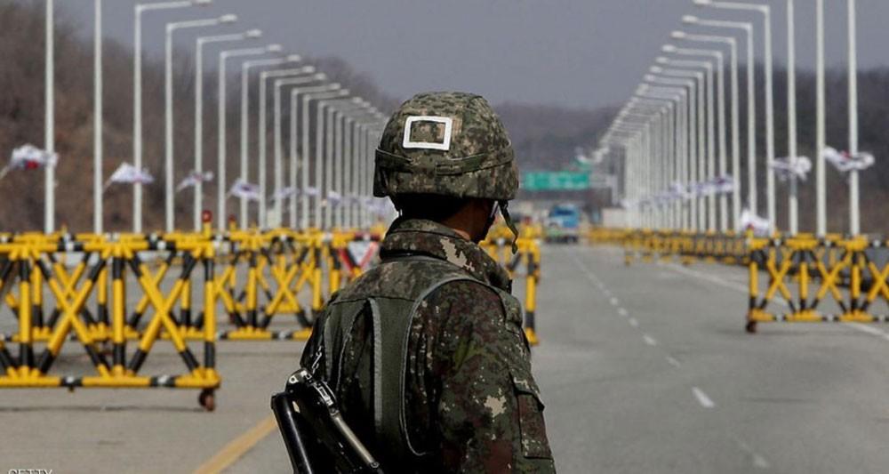 انشقاق جندي من كوريا الشمالية