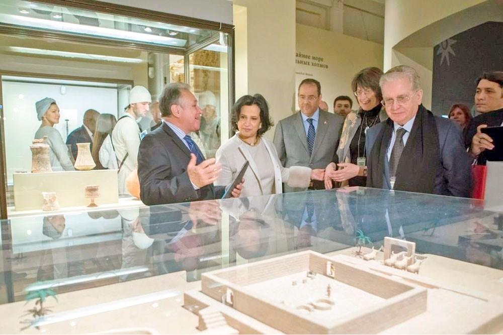 مي بنت محمد: المعارض تؤكد دور الثقافة في التعريف بهويتنا الحقيقية