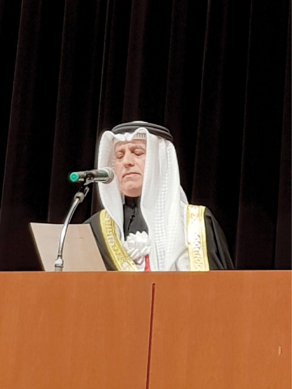 علي بن عبدالله يعلن افتتاح البطولة الآسيوية العاشرة للرماية