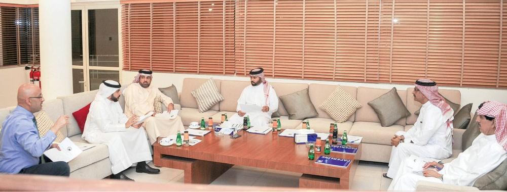 """البنا لـ """"البلاد"""": نثمن دعم سمو الشيخ خليفة بن علي اللامحدود لبرامج الجمعية"""