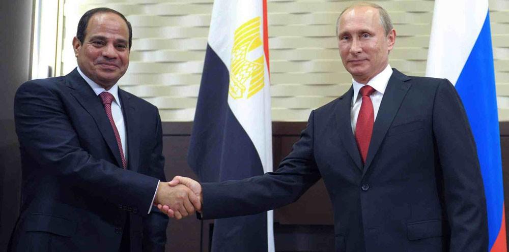 بوتين يزور مصر الاثنين المقبل