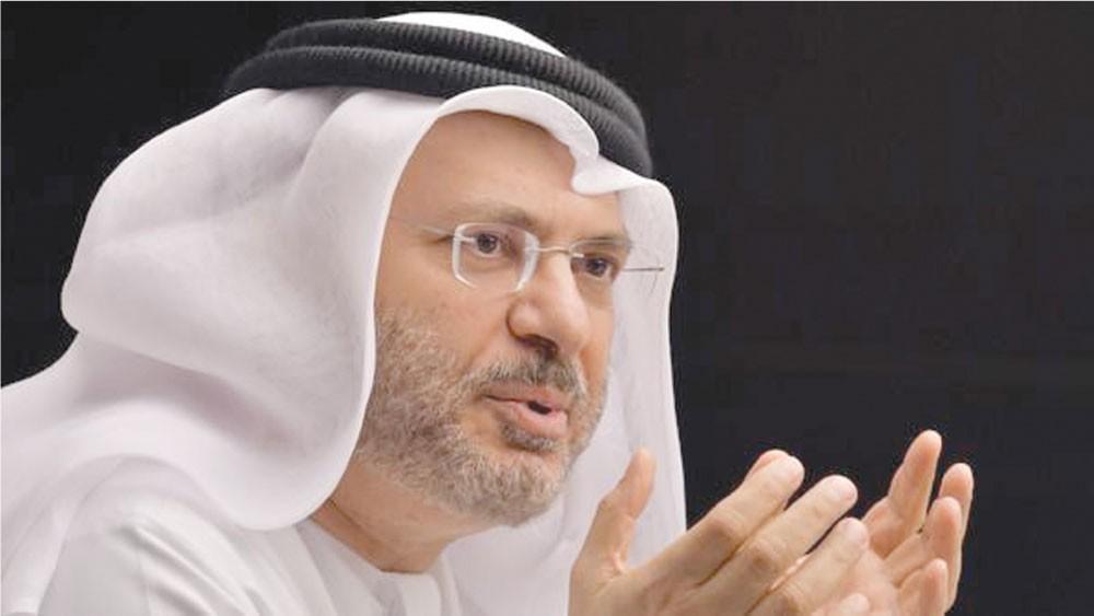 قرقاش : قطر تواصلت مع السعودية وتآمرت على ملكها