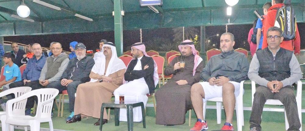 عبدالعزيز بن مبارك يشيد ببطولة شركة كانو للتنس