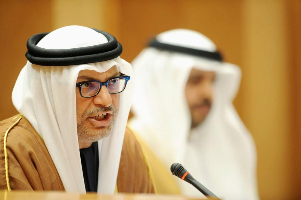 قرقاش : شكوى قطر من الإمارات غير صحيحة ومرتبكة