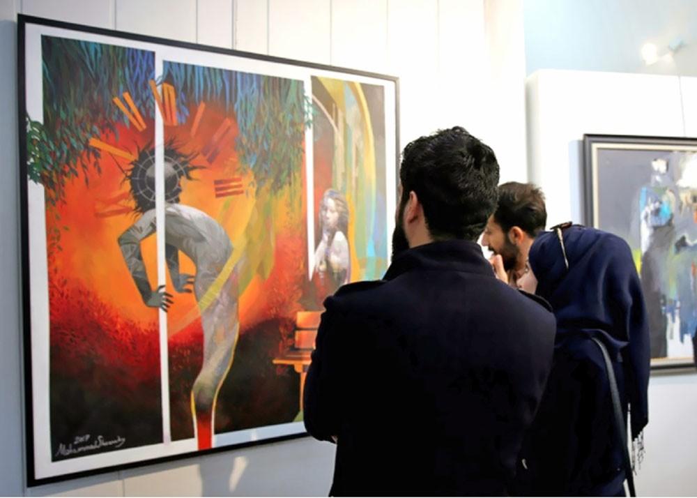 افتتاح أكبر معرض للفنون التشكيلية في العراق
