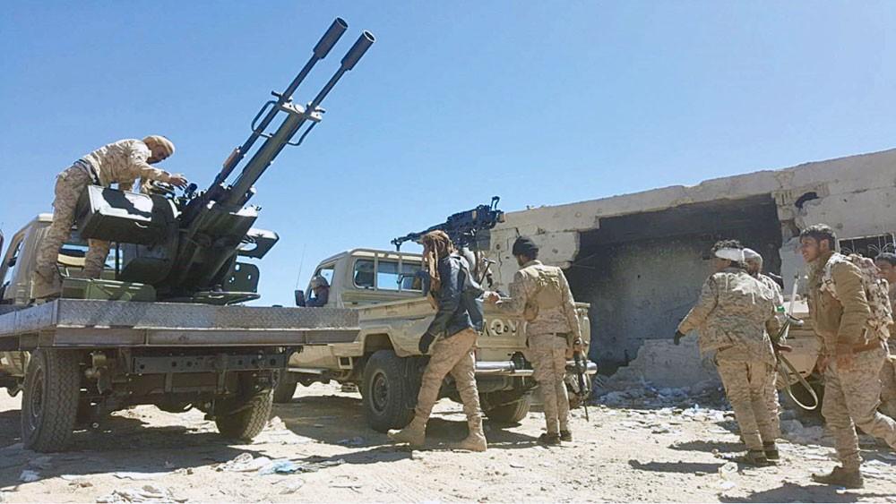 صعدة..الجيش اليمني يسيطر على مرتفعات إستراتيجية بمندبة