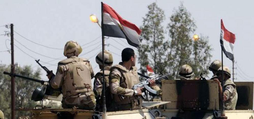 الجيش المصري يقتل 16 إرهابياً ويدمّر 66 وكراً في سيناء