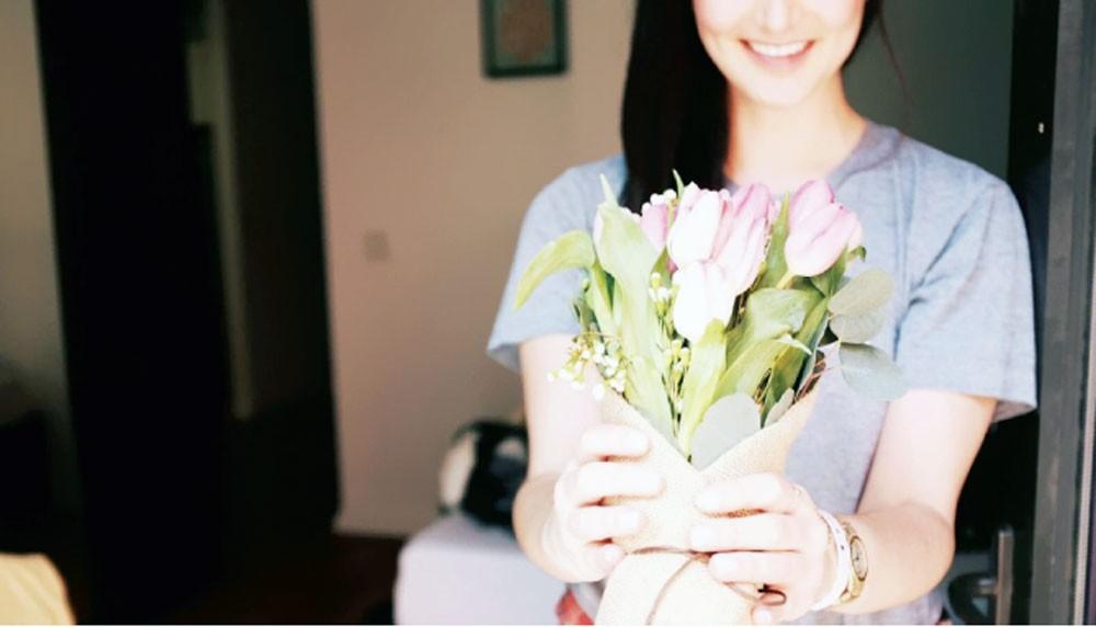 15 % من الأميركيات يرسلن الورود لأنفسهن في الفالنتاين