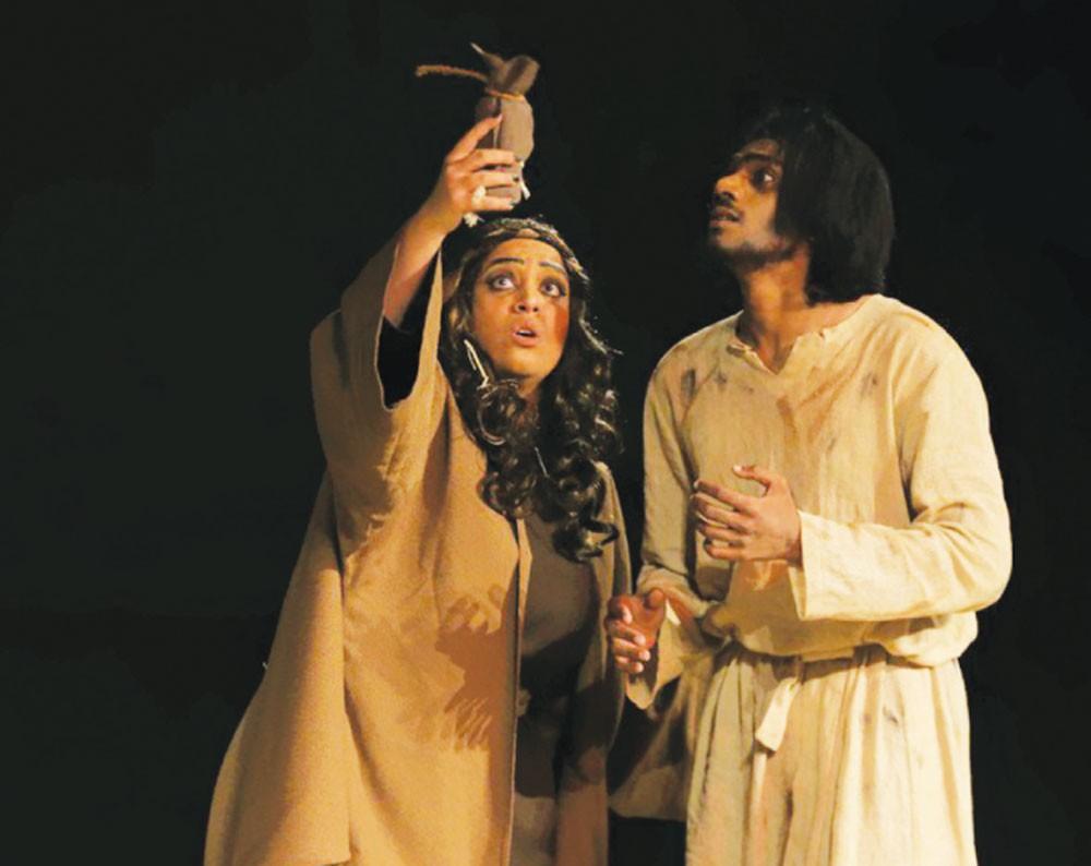 """""""بئر الزلاق"""" في سادس أيام مهرجان أوال المسرحي"""