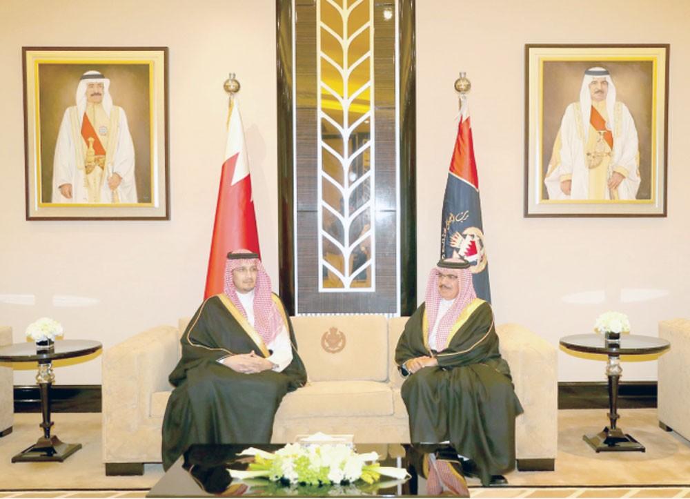وزير الداخلية: حرص متبادل على تطوير التعاون الأمني