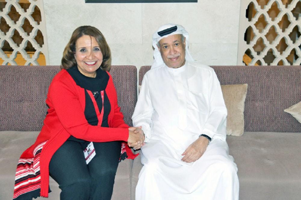 """البحرين تفتخر بوجود """"هرمين"""" للرياضة"""