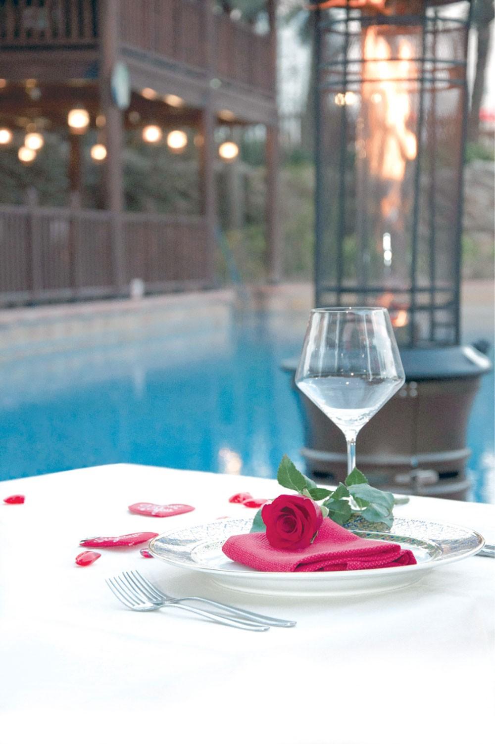 فندق الخليج يطلق باقات للاحتفال بعيد الحب