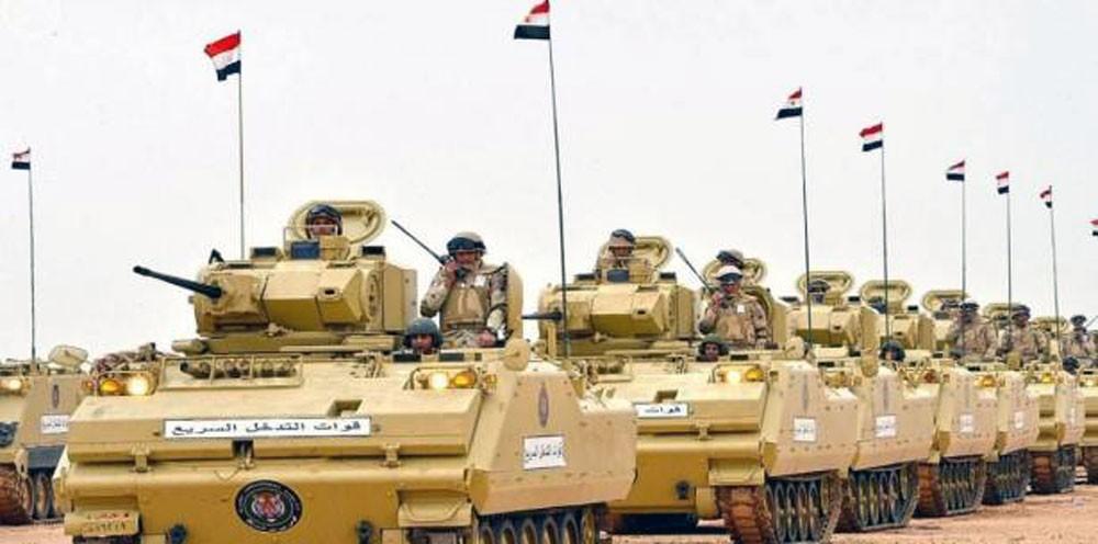 سيناء.. مصرع 10 إرهابيين واعتقال المئات