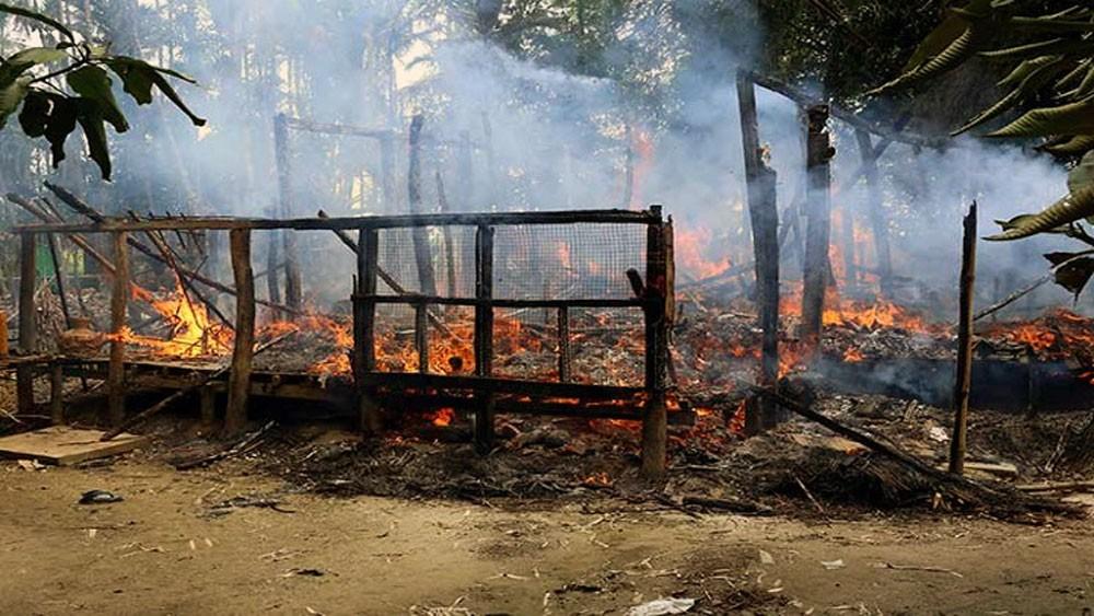 """منظمة: بورما تهدم قرى للروهينغا """"لإخفاء الفظائع"""""""