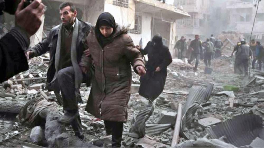 أكثر من 400 قتيل... والقنابل تستبق تصويت الغوطة