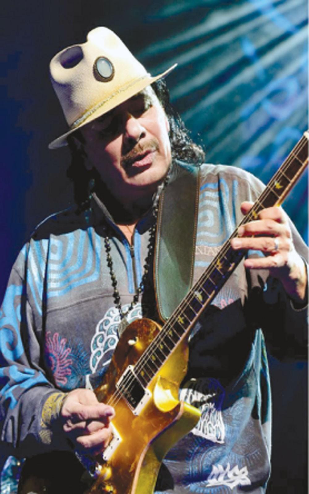 كارلوس سانتانا يقيم حفلا غنائيا في حلبة البحرين الدولية