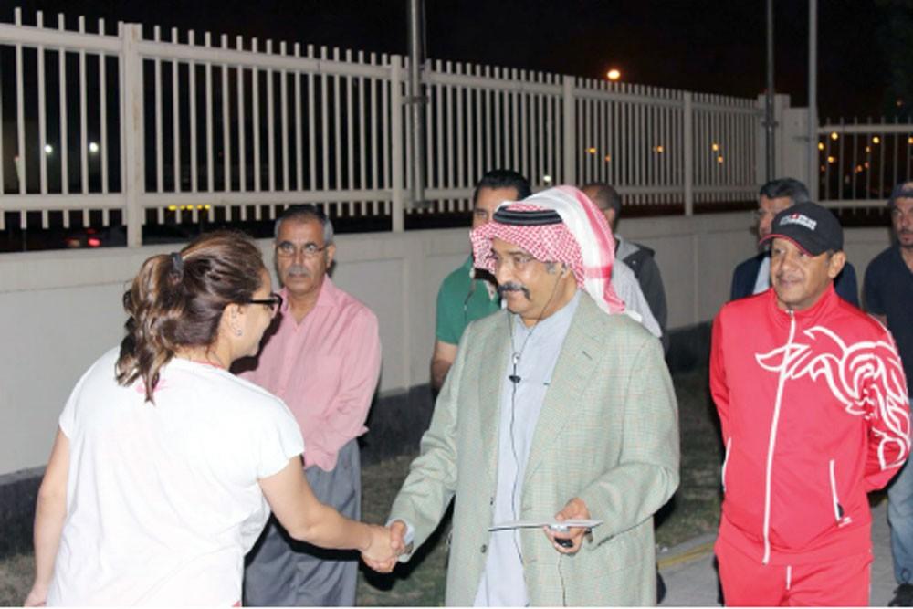 """أحمد بن محمد يشيد بالجهود في إنجاح """"فيد كاب"""""""