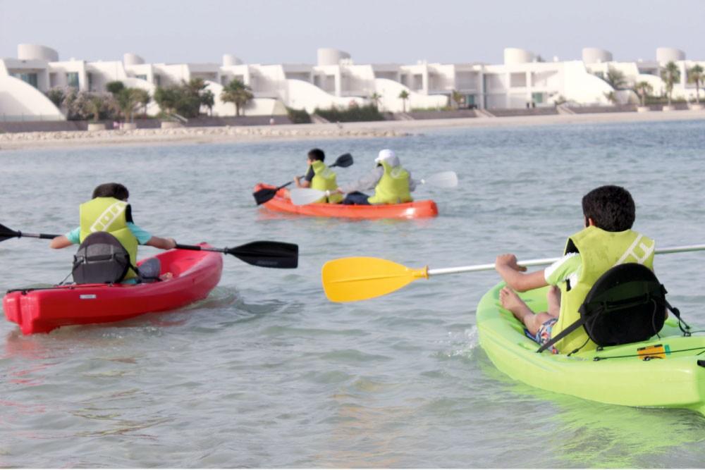 منتجع درة البحرين ينظم مهرجان الأنشطة البحرية