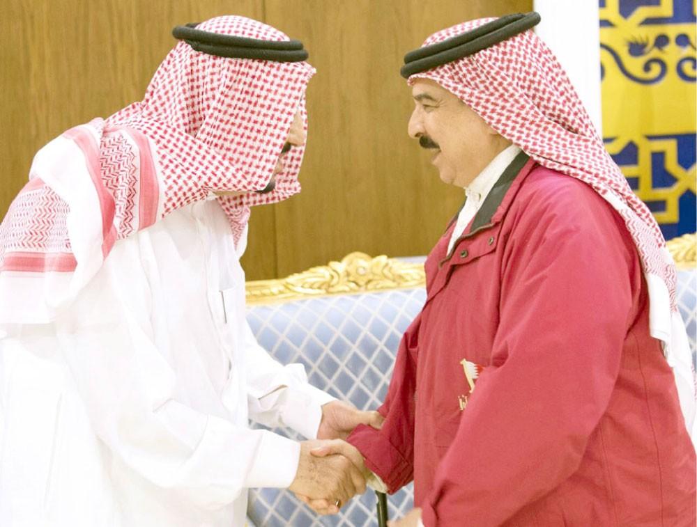 جلالة الملك: البحرين تقف مع الأشقاء والأصدقاء في المهمات العسكرية الإنسانية