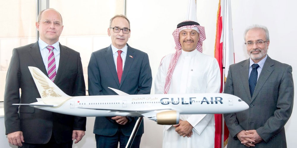 """""""طيران الخليج"""": تسيير """"دريملاينر"""" الجديدة إلى لندن يونيو المقبل"""