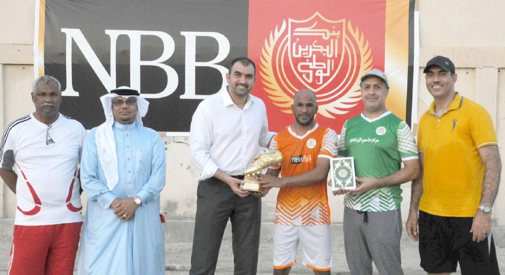 البحرين الوطني يتأهل لدور الأربعة بدورة السقية