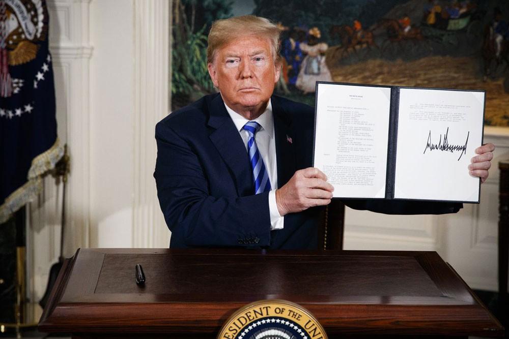 ترامب : إيران تغيرت وستبحث صفقة جديدة