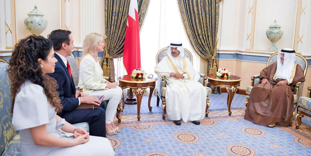 سمو رئيس الوزراء : تسوية الصراعات الدولية لا تتم إلا بالحوار