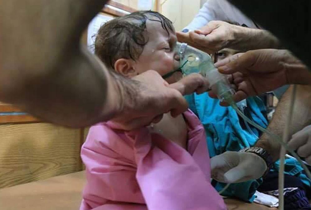 منظمة : غاز السارين استخدم في سوريا