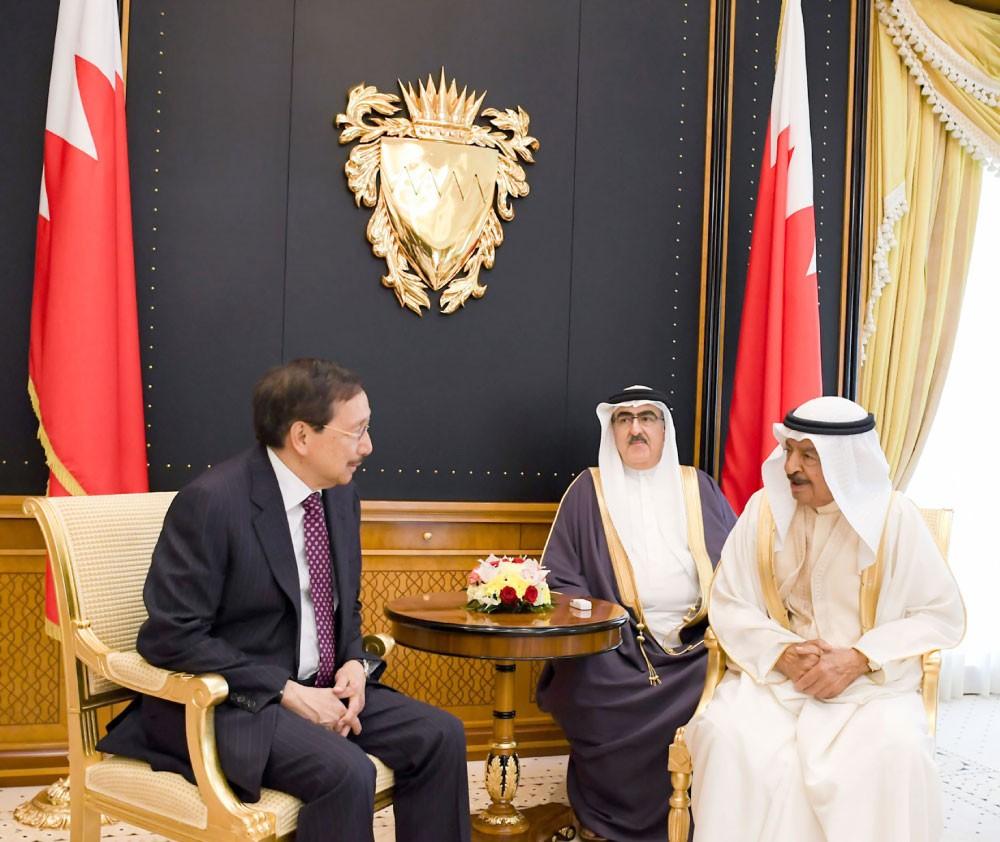 سمو رئيس الوزراء : البحرين تتطلع لفتح آفاق جديدة للتعاون المشترك مع الفلبين