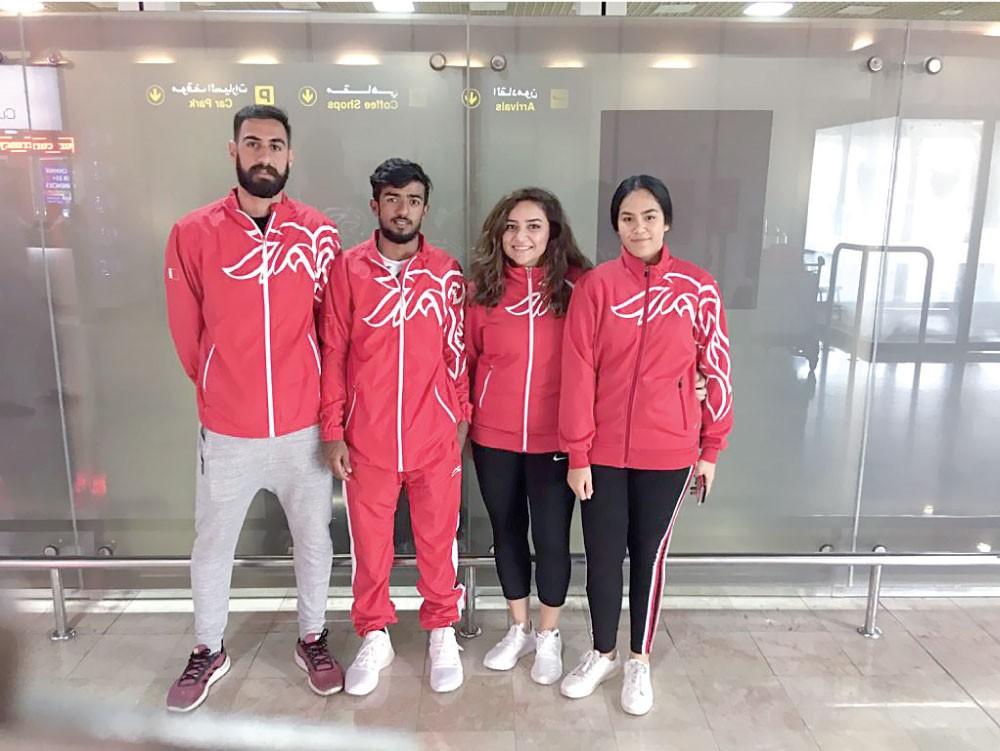معسكر مكثف لمنتخب التنس في أذربيجان