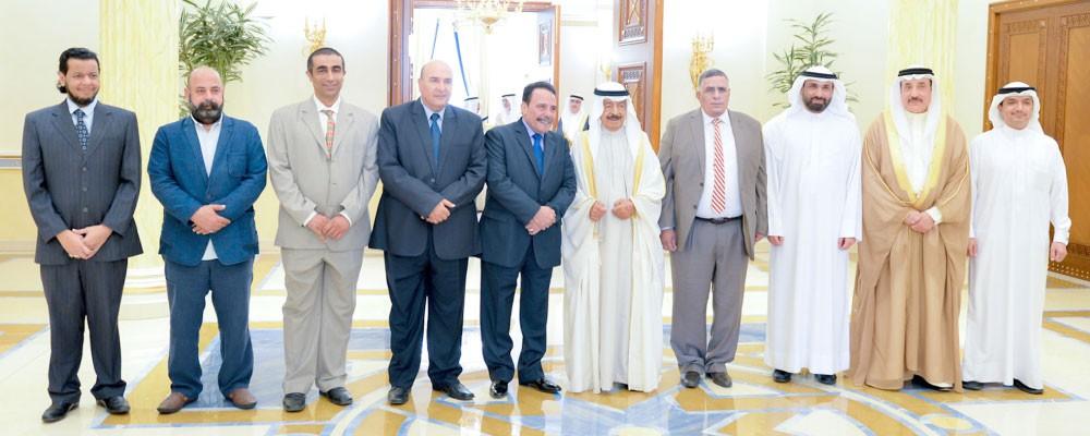 سمو رئيس الوزراء : نقدر إسهامات الكفاءات المصرية في البحرين