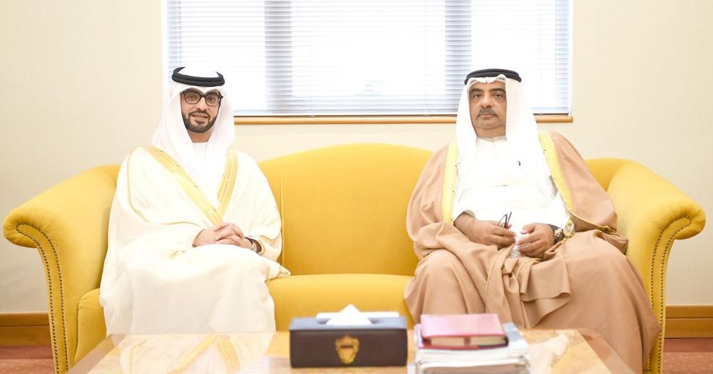 سمو الشيخ سلمان بن خليفة : نعتز بالعلاقات التاريخية الوطيدة مع الإمارات