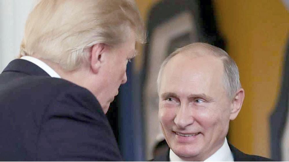 ترامب عشية لقائه بوتين: روسيا وأوروبا والصين أعداؤنا