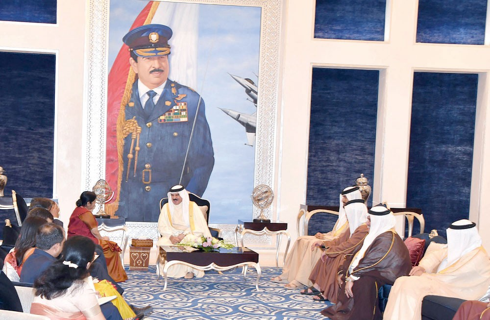جلالة الملك: البحرين والهند نموذج رائد للصداقة والتعاون