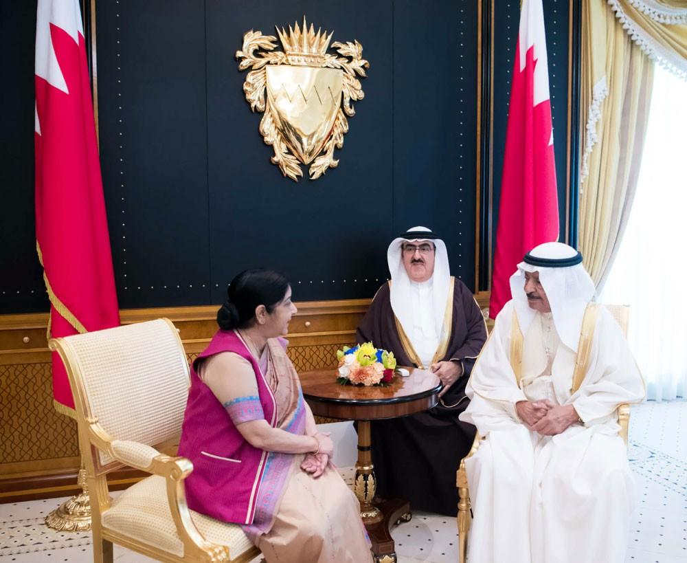 سمو رئيس الوزراء: فرص نجاح التعاون البحريني الهندي كبيرة