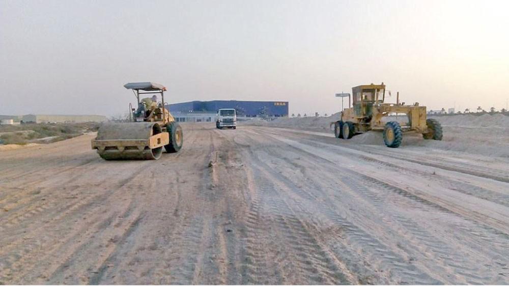 إنشاء منفذ جديد للمنطقة الصناعية بسلماباد