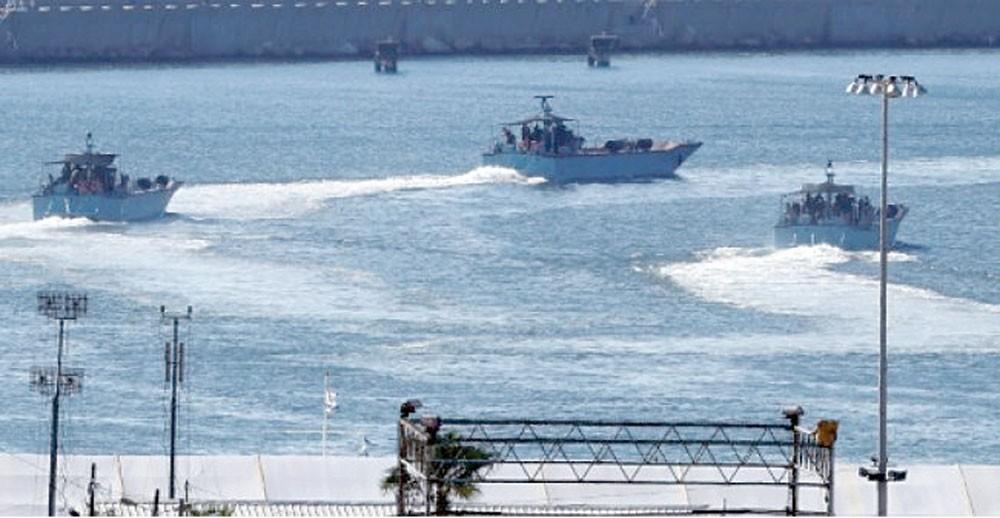 جيش الاحتلال يعترض سفينة حاولت كسر حصار غزة