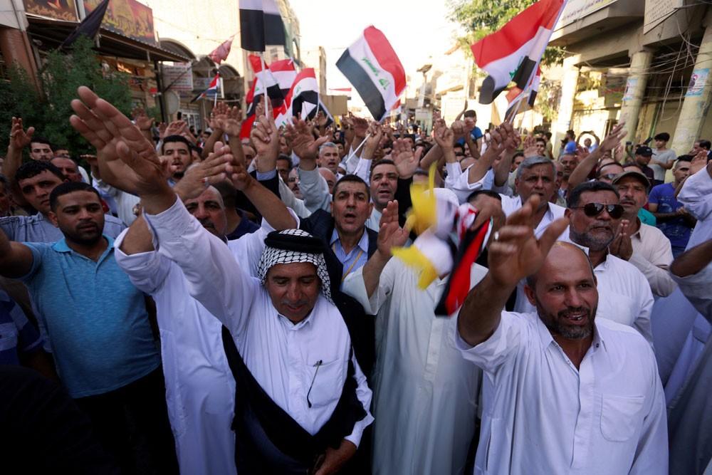 العراق... اعتصامات في المثنى ودعوات لعصيان مدني