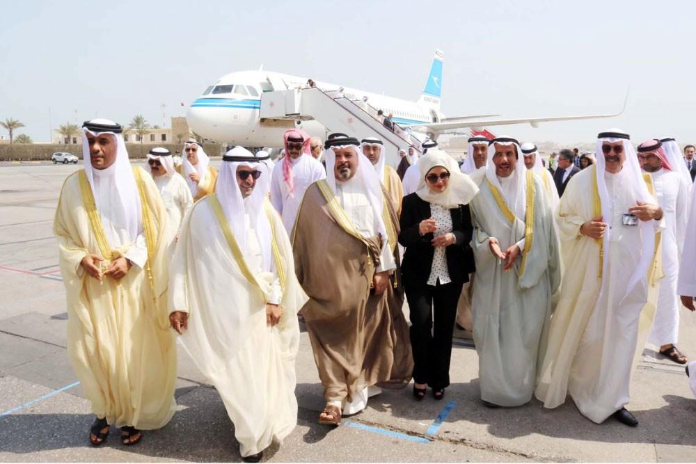 """المملكة تستقبل أول رحلة للخطوط الكويتية من مبنى المسافرين الكويتي """"تي 4"""""""