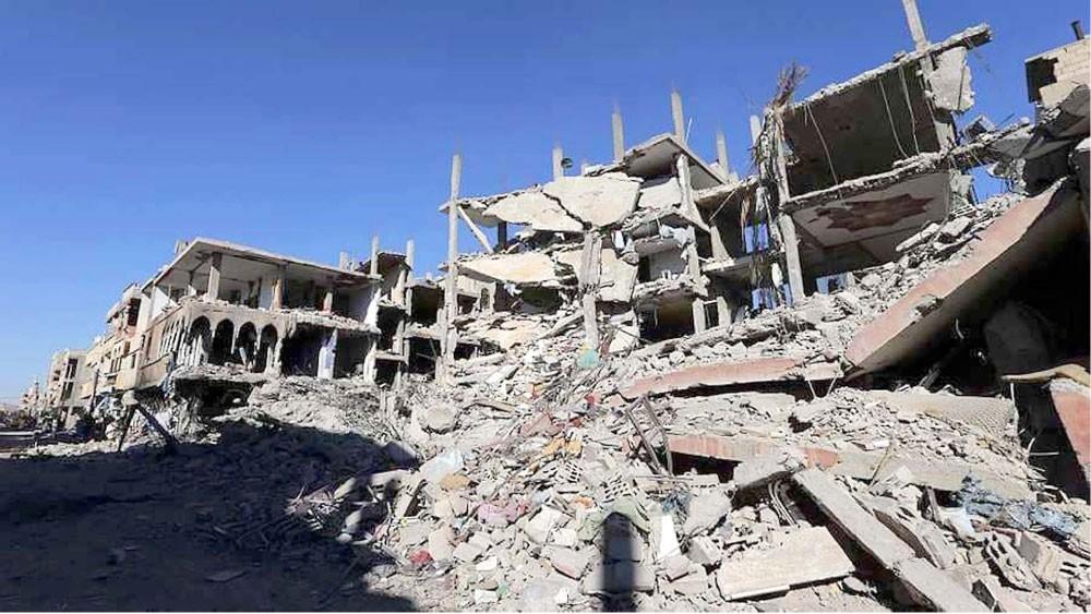 الأمم المتحدة: كلفة الدمار في سوريا نحو 400 مليار دولار