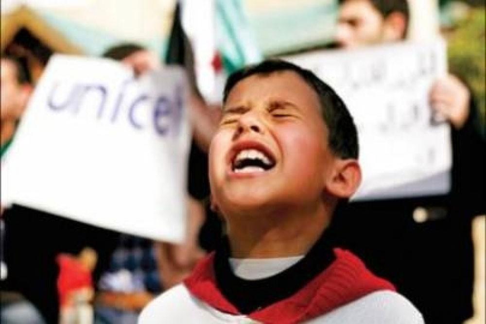 """""""اليونيسيف"""": مليون طفل سوري """"في خطر"""""""