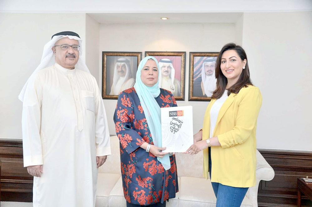"""""""البحرين الوطني"""" يتبرع لـ """"السكري البحرينية"""""""