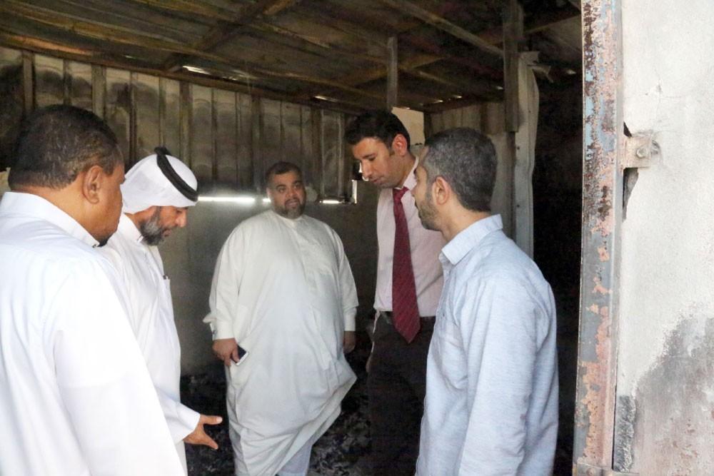 اندلاع حريق في منزل بمدينة حمد ولا إصابات