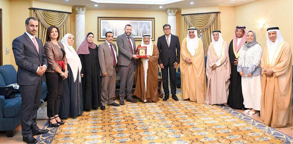 بحث التعاون البرلمان بين البحرين والأردن