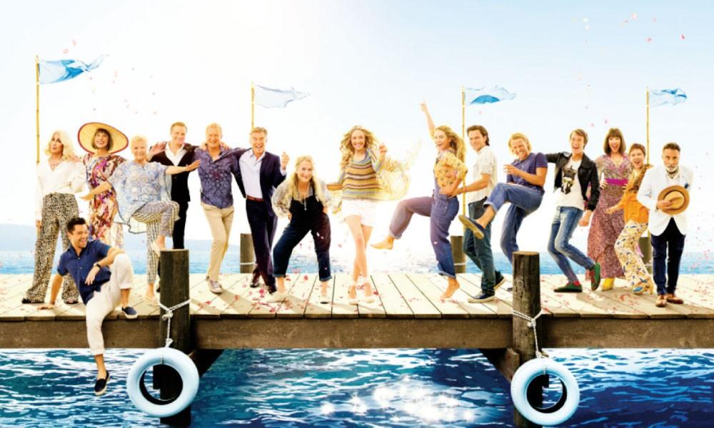 Mamma Mia! Here We Go Again.. نجاح كبير في السينما