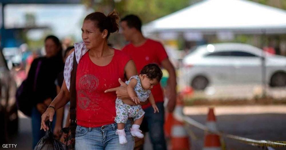 الجيش يحشد قواته على حدود فنزويلا