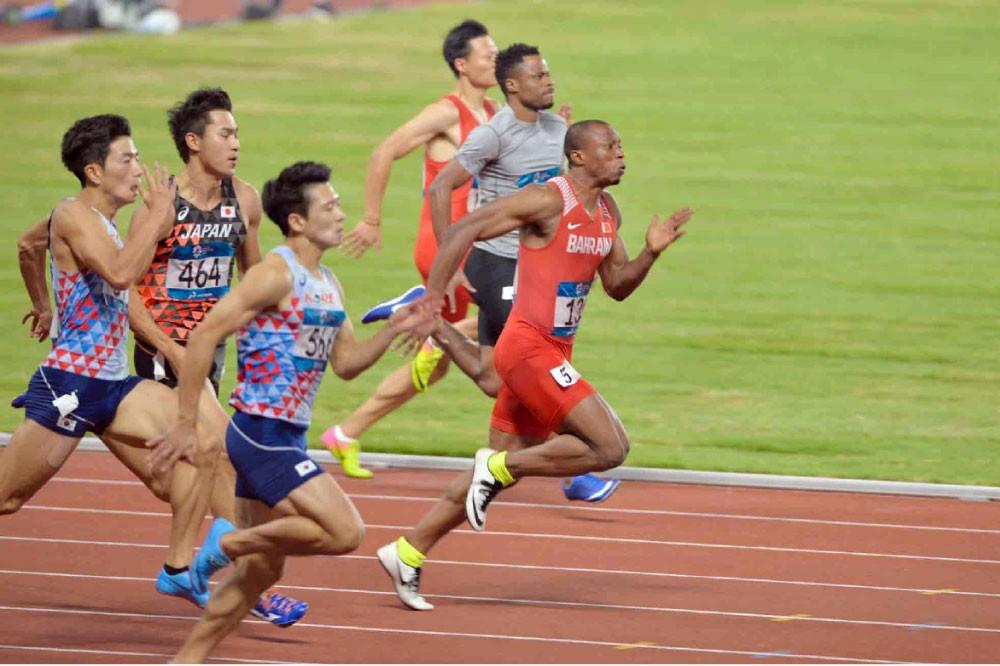 أديدونغ تكسب ذهبية 200 متر وتتزعم سباقات السرعات