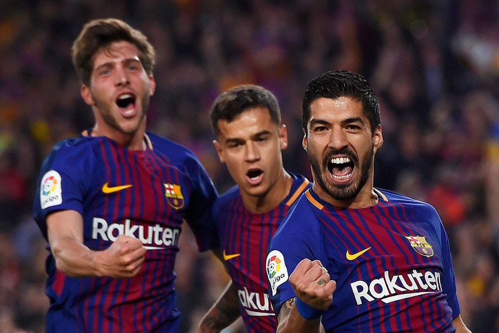 برشلونة يكتسح هويسكا
