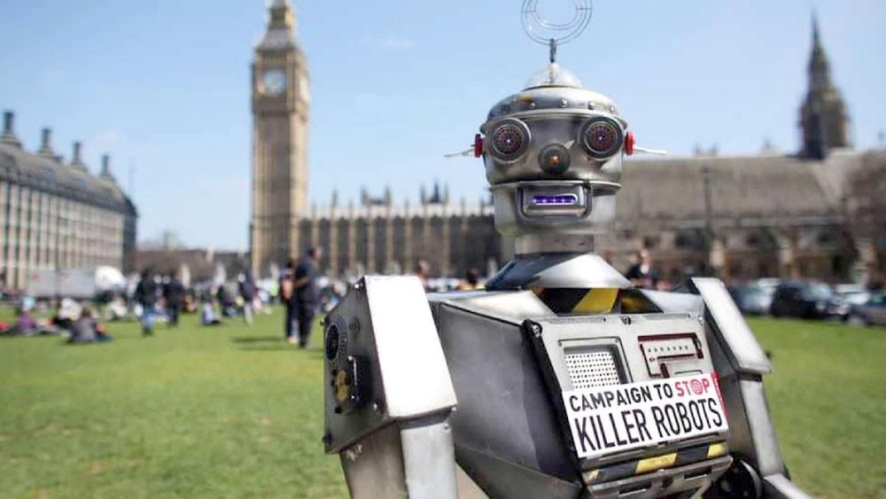 """واشنطن وموسكو تنتصران لـ """"الروبوتات القاتلة"""""""