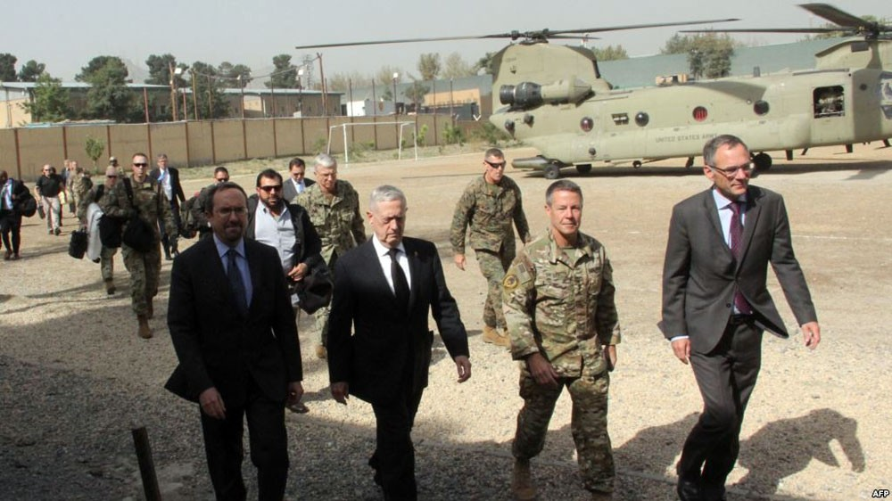 ماتيس في زيارة مفاجئة إلى كابول